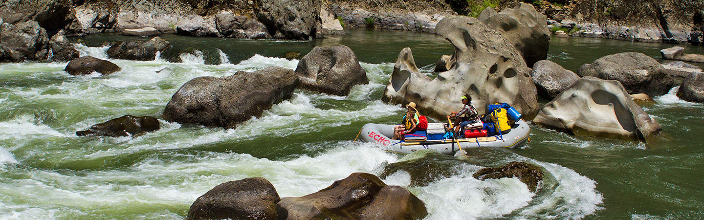 Blossom Bar is the toughest rapid on the Rogue River
