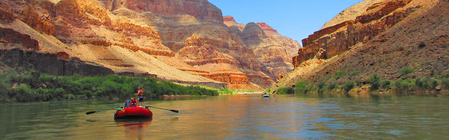 Rafting the Grand Canyon of the Colorado River | Photo by Dave Baston
