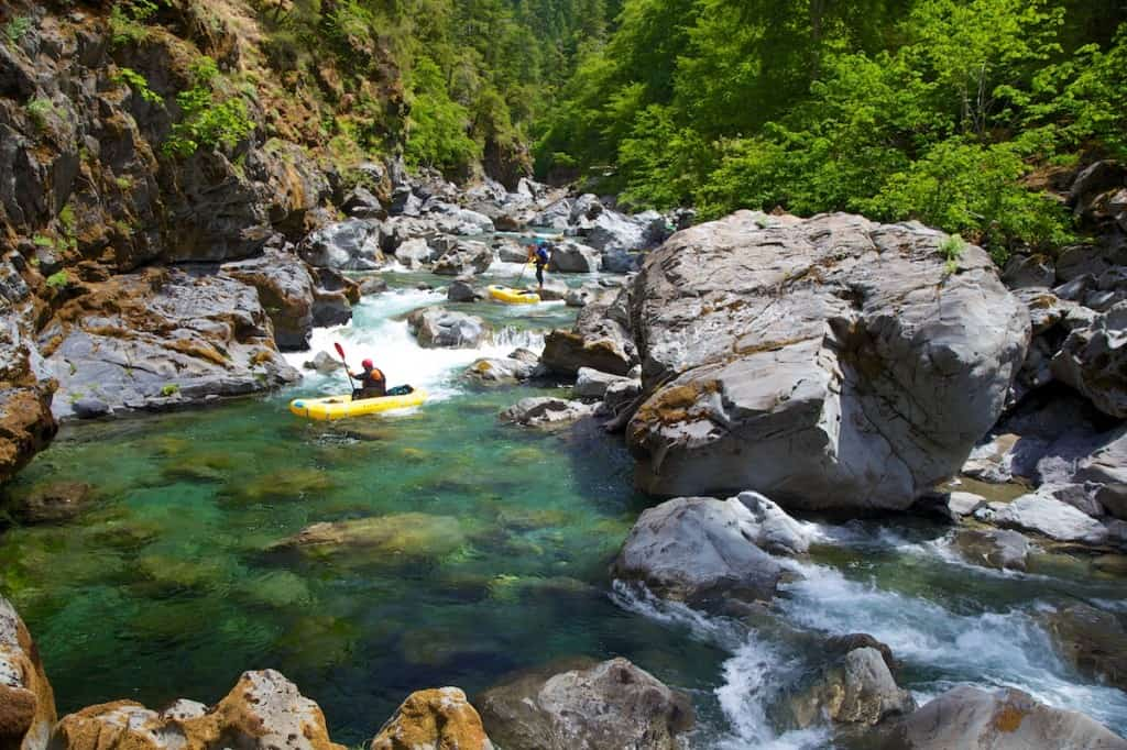 Tin Cup Rapids on the Chetco River
