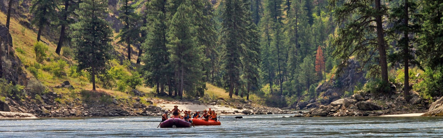 Rafting in Idaho's Salmon River | Photo courtesy of Momentum River Expeditions