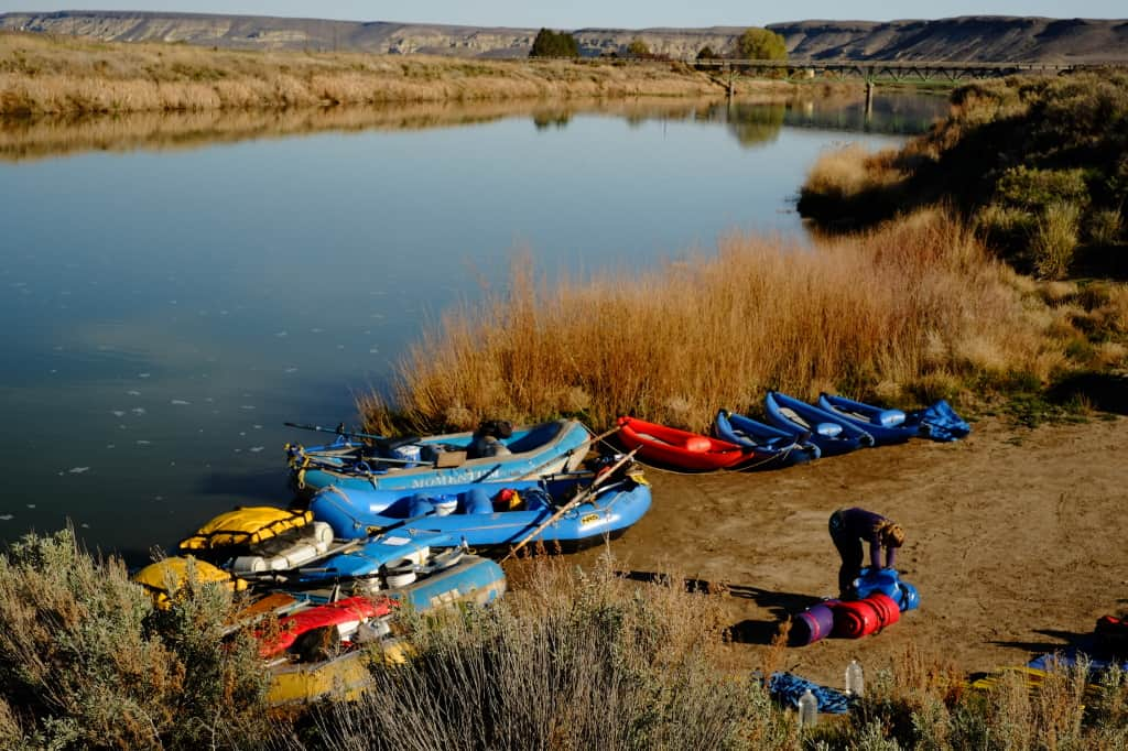 Put-in for the Lower Owyhee - Photo by Nate Wilson