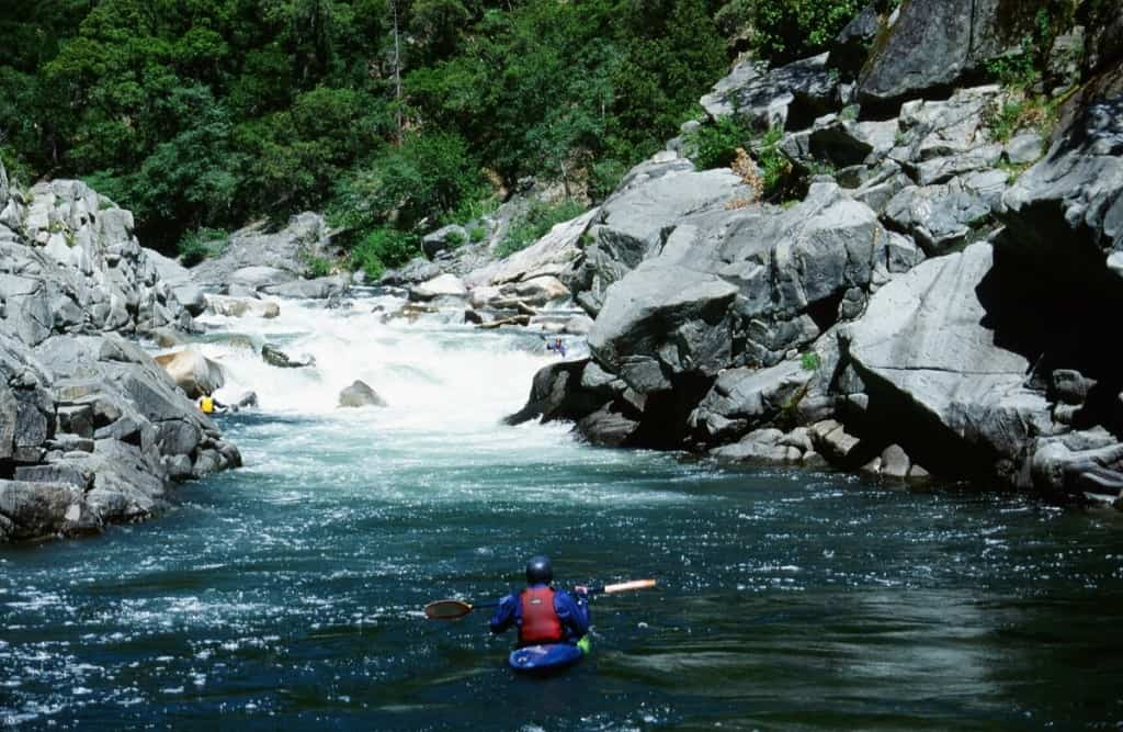 One of the many great rapids in Devil's Canyon on the Middle Fork of the Feather River