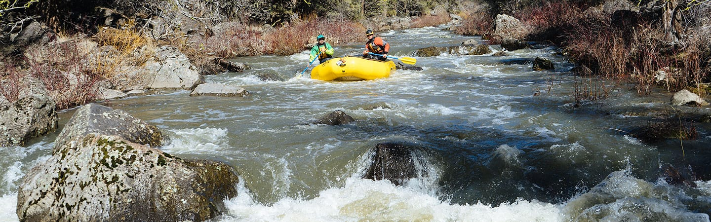 Rafting on the North Fork of the Owyhee River